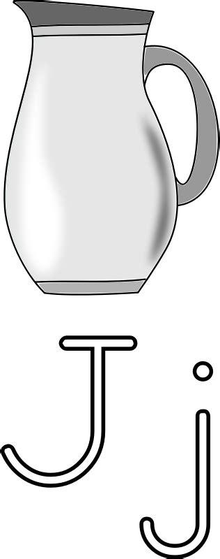 imagenes para colorear jarra letra j jarra para colorear descargar gratis