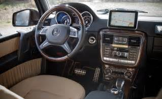 Mercedes G63 Amg Interior Car And Driver