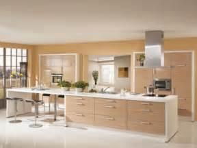 cuisine en bois moderne et chaleureuse d 233 coration