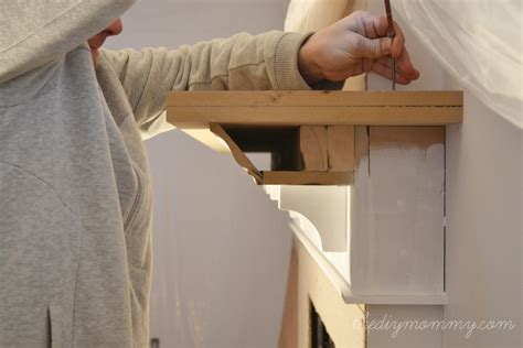 Building Our Fireplace: The DIY Mantel ? Our DIY House