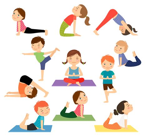 cartoon yoga wallpaper kids yoga cartoon images kid 101