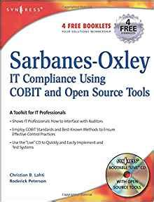 sarbanes oxley section 203 sarbanes oxley compliance using cobit and open source