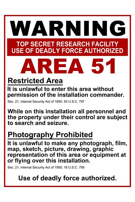 51 best images about how area 51 warning sign www imgkid the image kid has it