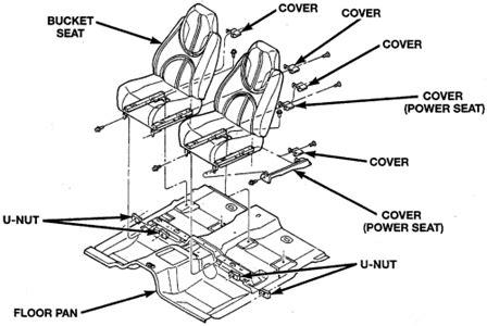automotive repair manual 2002 dodge caravan seat position control how to remove 97 dodge ram rear seat fixya