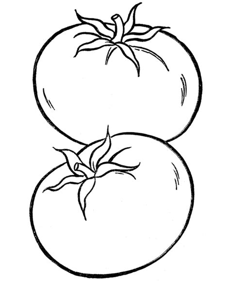 printable vegetable coloring pages coloring home
