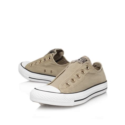 Converse Ct Tinggi Gray converse ct slip low in gray for grey lyst