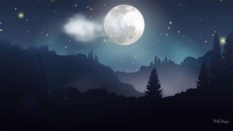 moon and light moonlight wallpaper 1920x1080 5746