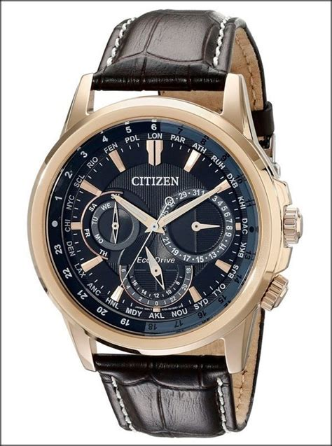 Citizen Calendrier Review Citizen Bu2023 04e Calendrier Review Gold