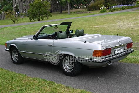 mercedes modified sold mercedes 350sl modified convertible auctions