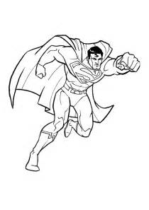 free printable superman coloring pages kids