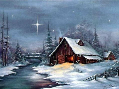 White Barn Candle Winter Cabin by 165 Best Images About Paintings Barns On