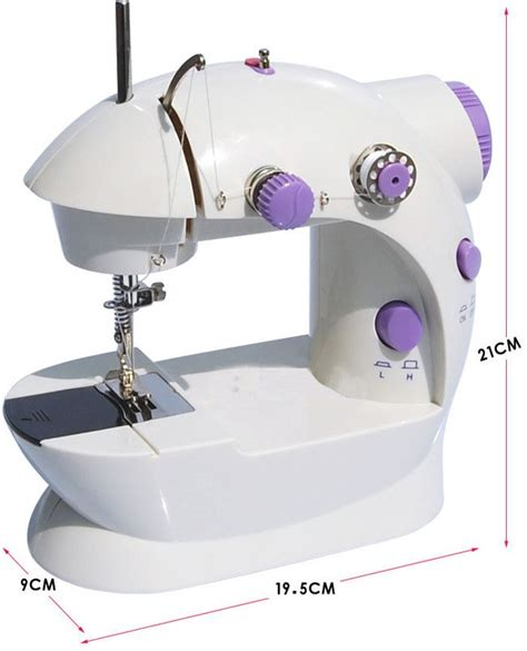 Mesin Jahit Mini Portable 4 In 1 multi function mini portable electric sewing machine use
