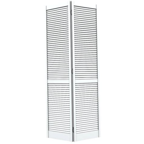 Louvered Bifold Closet Doors Sizes Bifold Louvered Closet Doors Home Design Ideas