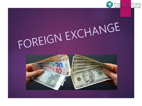 foreign currency exchange foreign exchange finance