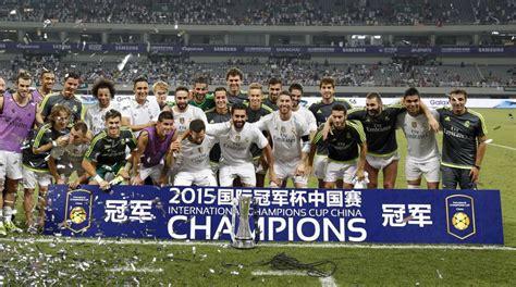 Calendario Real Madrid Real Madrid El Calendario Verano Madrid Psg