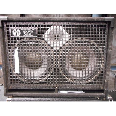 Swr 2x10 Bass Cabinet by Used Swr Goliath Jr Iii 2x10 Bass Cabinet Guitar Center