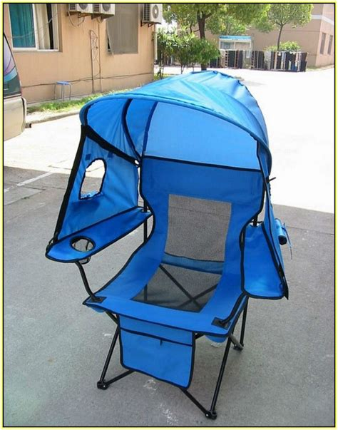 Canopy Camping Chair by Folding Chair With Canopy Home Design Ideas