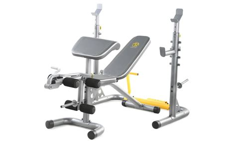 golds gym incline bench gold s gym xrs 20 olympic workout bench livingsocial