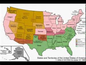 united states map history united states history in maps