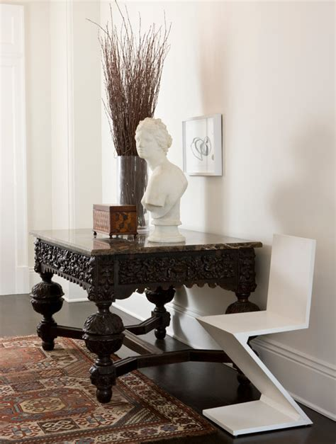 modern mix antiques modern furniture in darryl carter s the antique modern mix snob