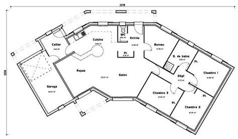 plan maison plein pied 4 chambres 25 best ideas about maison plein pied on plan
