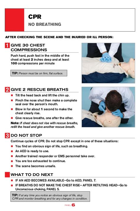 printable cpr instructions 2015 american red cross cpr aed