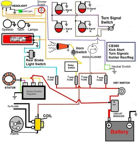 honda cb350 simple wiring diagram search useful