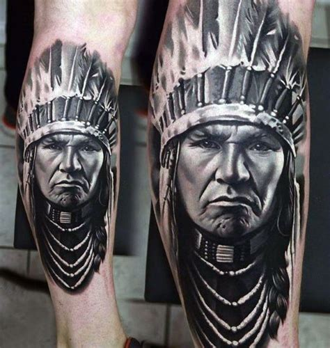 indian tribal tattoos for men 40 remarkable leg tattoos for
