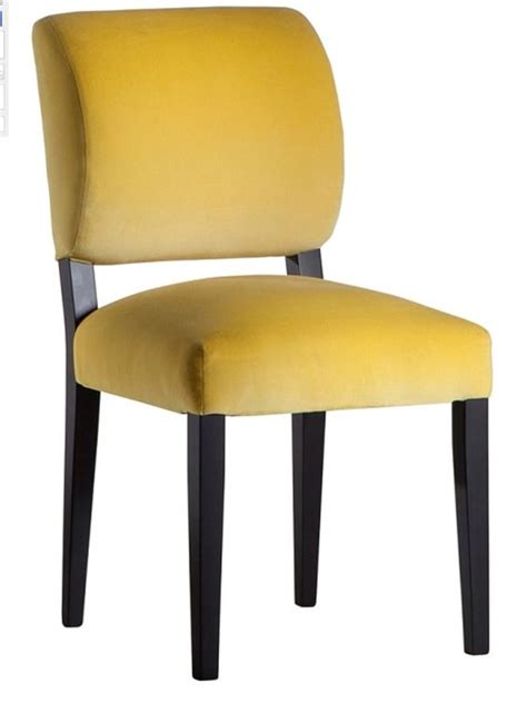 chairs yellow and upholstered dining chairs on pinterest