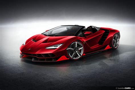 Lamborghini Roadster This Is What Lamborghini Centenario Roadster Should Look Like