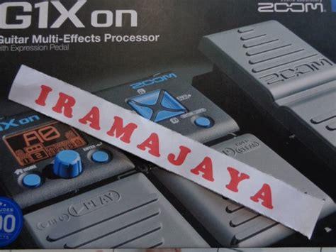 Multi Efek Gitar Bekas jual zoom g1xon guitar multi effects pedal baru gitar