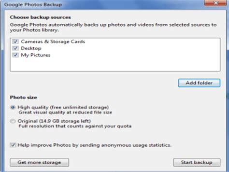 automatically backup photos to photos