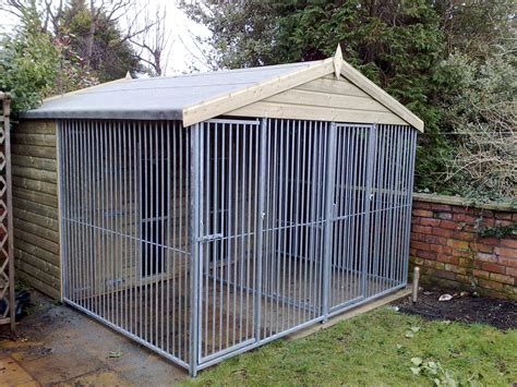 dog house with attached kennel dog kennel and run house plans attached dog run the series the new standard in dog