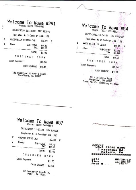 laravel 5 3 cashier customised receipt template 50 in 30 the wawa challenge catching up part 3 wawa