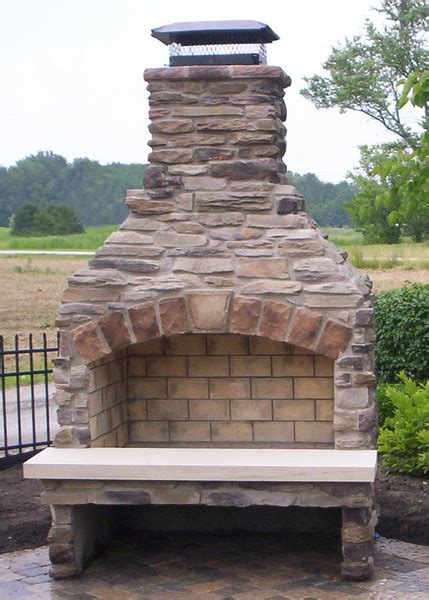 Outdoor Brick Fireplace Kits by Outdoor Fireplace Kits Masonry Fireplaces