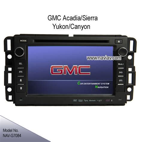 automotive repair manual 2000 gmc yukon navigation system gmc acadia sierra yukon envoy oem in dash stereo dvd gps navigation tv ipod nav g7084 car dvd