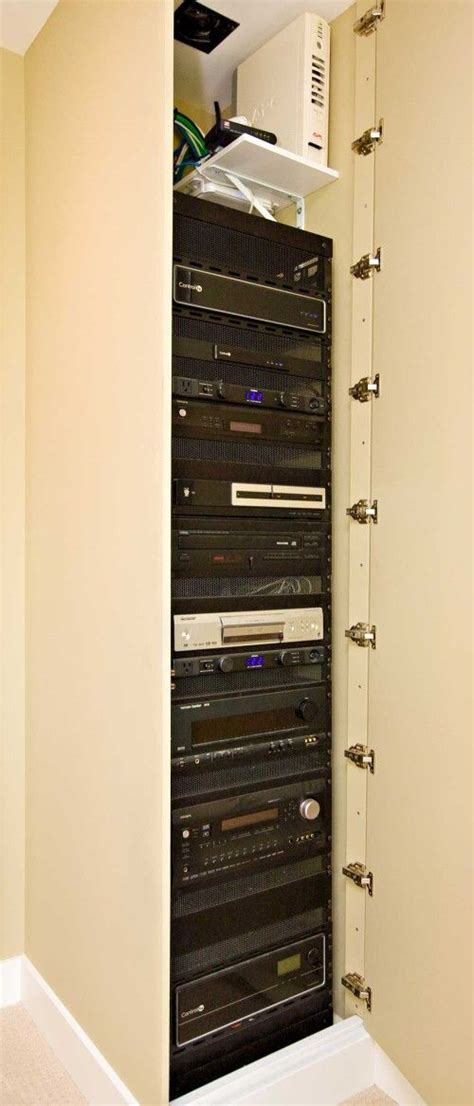 Media Closet Rack by 181 Best Av Home Theater Equipment Rack Images On Cable Management Theater And