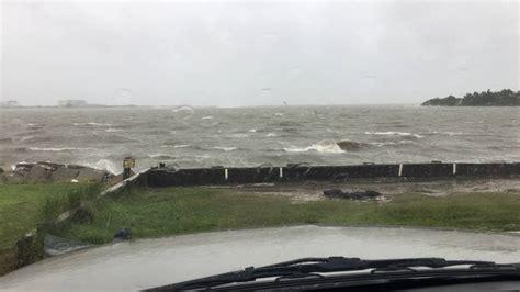 oak island holden inlet hurricane matthew 10 8