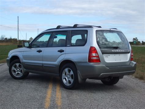 how does cars work 2004 subaru forester lane departure warning 2004 subaru forester overview cargurus