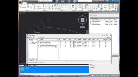 tutorial autocad xref autocad tutorial xref editing and layers on off youtube