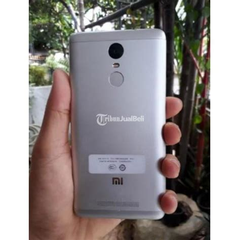 Hp Xiaomi Gemini xiaomi note 3 pro bekas warna silver fullset mulus ram 2gb