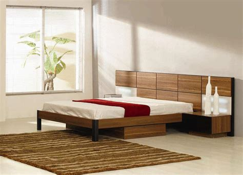 Platform Bed Modern Modern Platform Bed With Lights
