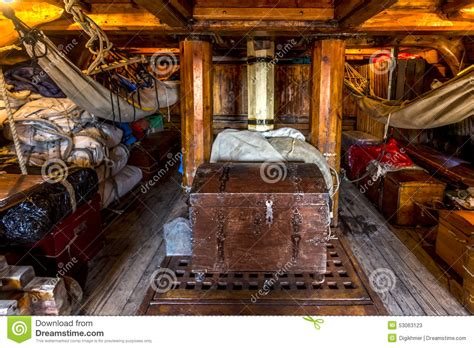 Vacation Cabin Plans pirate crew cabin stock photo image 53063123