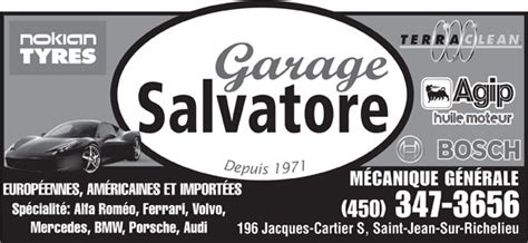 garage salvatore garage salvatore jean sur richelieu qc 196 rue