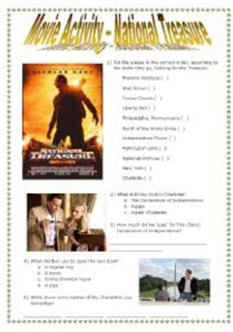 film quiz questions and answers 2009 national treasure movie questions