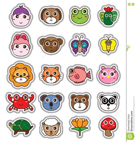 Comic Aufkleber by Stickers Label Vector