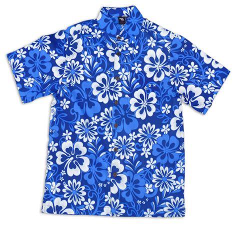 hawaiian shirt squish aloha hawaiian shirt blue fiji print cotton 4xl