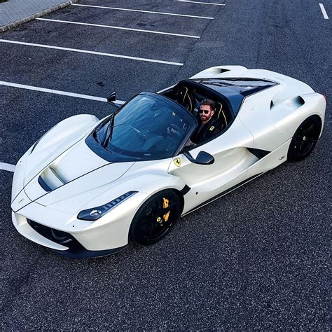 L Ferrari Price by Josh Cartu S White Laferrari Aperta Is Simply Breathtaking