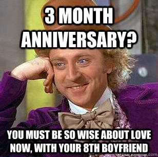 Anniversary Meme - this meme is not funny this meme is not funny witty two
