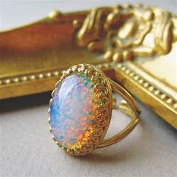 Opel Ring 14k Opal Ring Wedding Rings Ideas